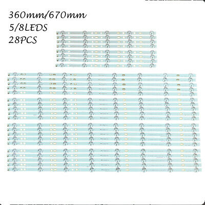 28pcs//Kit LED strips for SONY 75 TV KDL 75W850C KDL 75W855C S750HF59 750TV07 V1