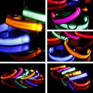 Nylon-Luminous-Pet-Dog-Collar-Night-Flashing-Glow-In-The-Dark-Puppy-Leash-Band