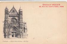 COMPIEGNE 2 l'église saint-antoine chocolat HUGON
