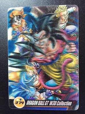 DRAGON BALL Z GT DBZ SUPER BATTLE PART CARD REG CARTE 93 MADE IN JAPAN 1992 NM