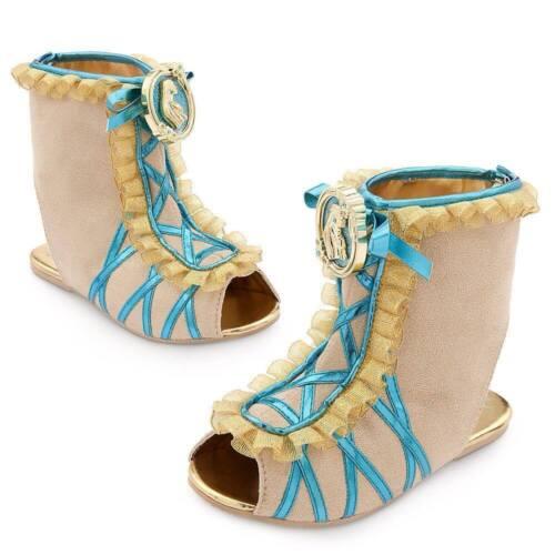 Disney Store Pocahontas Princess Costume Shoes Girls 7//8 9//10 11//12 13//1 2//3 NEW