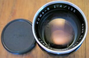 KOWAR 135f 14 Lens comes with front and rear caps  Case - Milton Keynes, Buckinghamshire, United Kingdom - KOWAR 135f 14 Lens comes with front and rear caps  Case - Milton Keynes, Buckinghamshire, United Kingdom