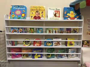 Image Is Loading Wall Bookshelf Bookcase Kids Children Books Shelf Storage