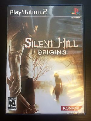 Silent Hill Origins PS2 PlayStation 2 Konami 2008 Complete Case & Game