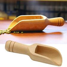 3//4X Wooden Small Little Mini Scoop Salt Sugar Coffee Spoon Kitchen Cooking Too