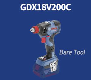 Bosch-GDX-18-V-200-C-1-en-2-EC-Brushless-147-mm-200-Presque-comme-neuf-3400-tr-min-Free-Track-BARE