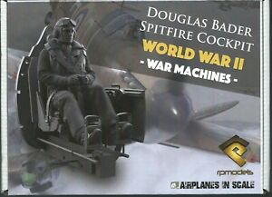 RP-Models-Douglas-Bader-Spitfire-Cockpit-WW2-Unpainted-1-10th-kit-LAST-FEW