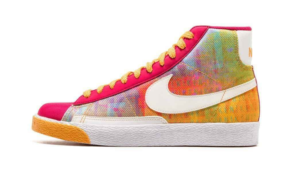 Femme Nike Blazer Mid High NEUF gr:40, 5 us:9 Sneaker 317808-612 Brilliant multicolores-