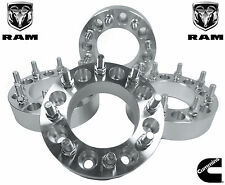 COMPLETE SET OF DODGE RAM 2500 3500 2X4 4X4 (1 INCH THICK) WHEEL SPACERS ADAPTER