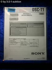 Sony Service Manual DSC T1 ADJ Digital Still Camera (#5866)