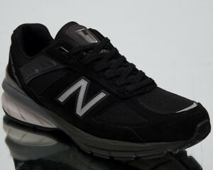 New-Balance-M990-Made-in-USA-Mens-Black-Sneakers-Casual-Lifestyle-Shoes-M990-BK5