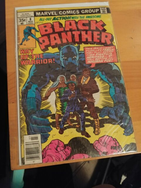 Black Panther #8 (Mar 1978, Marvel)