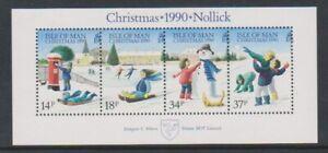 Isle-of-Man-1990-Christmas-sheet-MNH-SG-MS463
