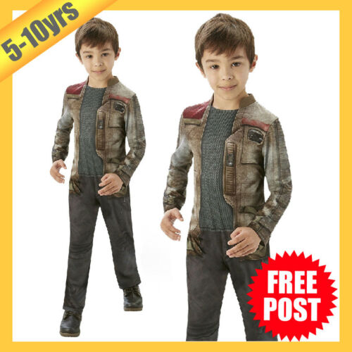 RD Boys Costume Fancy Dress Licensed Star Wars Force Awakens Finn Classic 620257