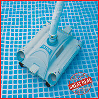 Swimming Pool Cleaner Automatic Above Ground Vacuum Intex Auto Cleaning Floor