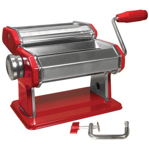 Weston Traditional Pasta Machine Stainless Steel Adjustable Noodle Maker Kitchen