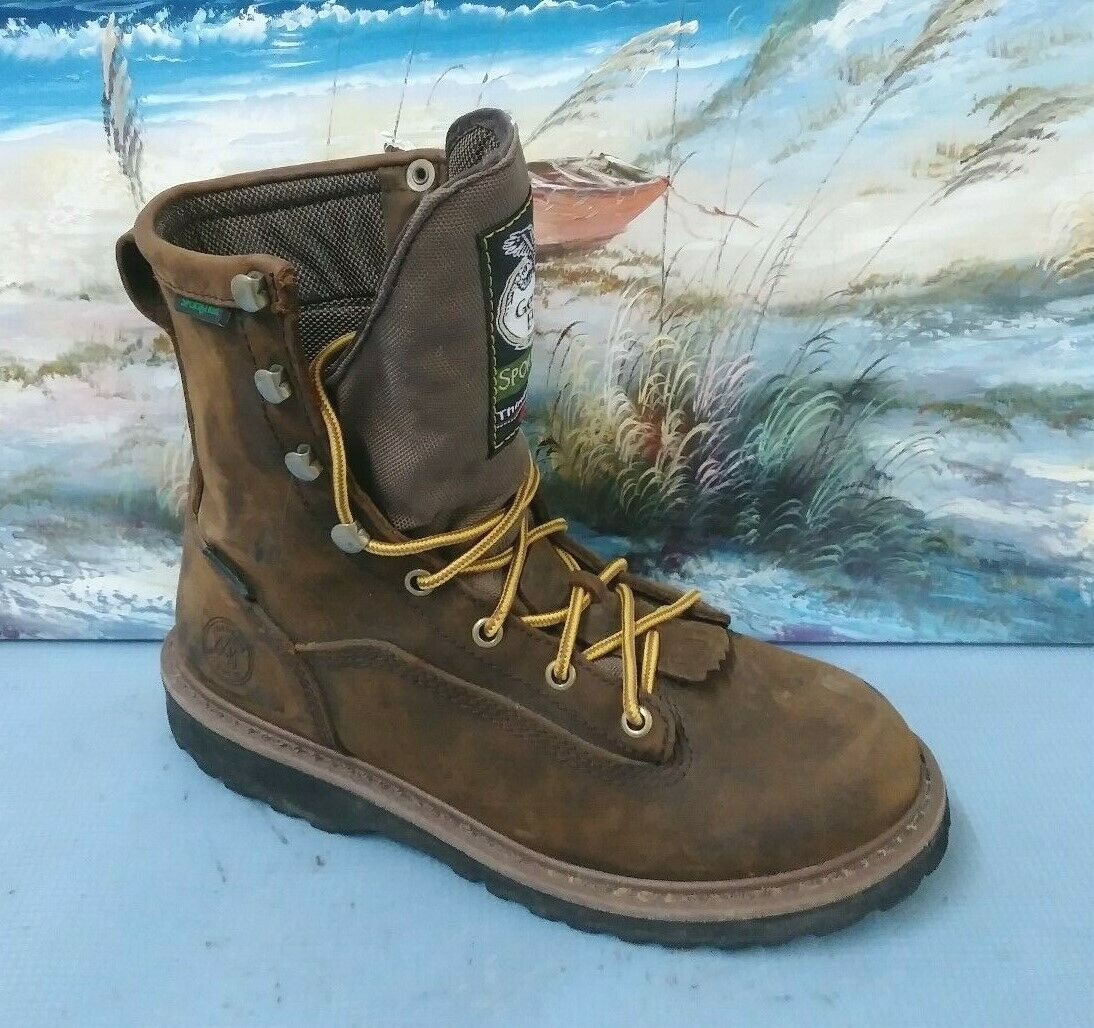 Georgia boots sport trail waterproof brown boots G2048 Size US 6.5 M UK 5.5 M