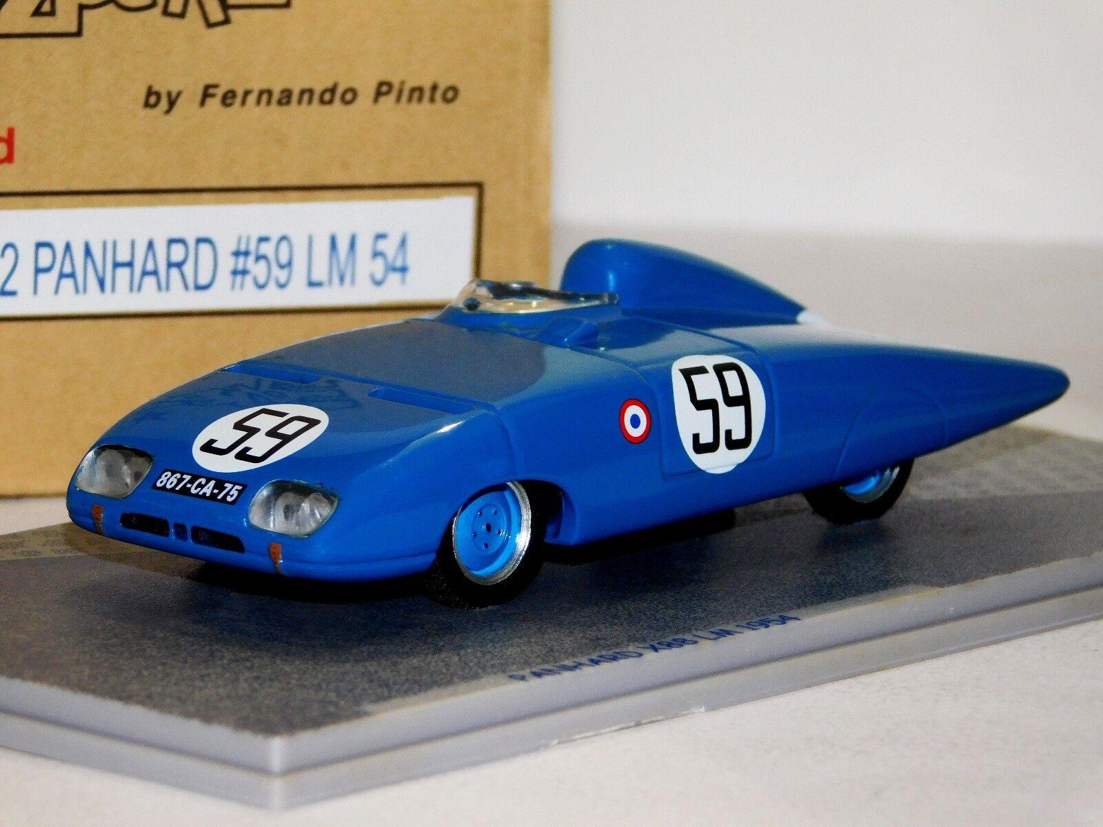 PANHARD LE MANS 1954 BIZARRE BZ62 1 43
