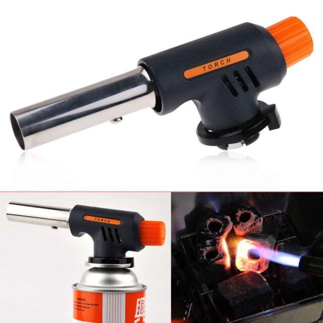Blow Torch Butane-Gas Flamethrower Burner Welding-Auto Ignition Soldering M8W9