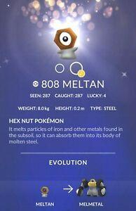 Pokemon go mystery box after meltan