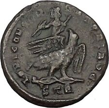 LICINIUS I 318AD Jupiter on Eagle Rare Trier Treveri Ancient Roman Coin i45108