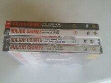 Major Crimes:THE COMPLETE SERIES: SEASON1 2 3 4, DVD , FREE SHIPPING, BRAND NEW.