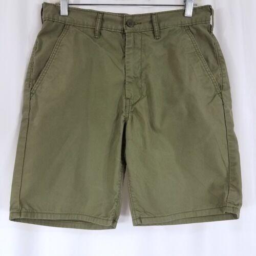Levi Strauss Women's Shorts Size 30 Bermuda Olive