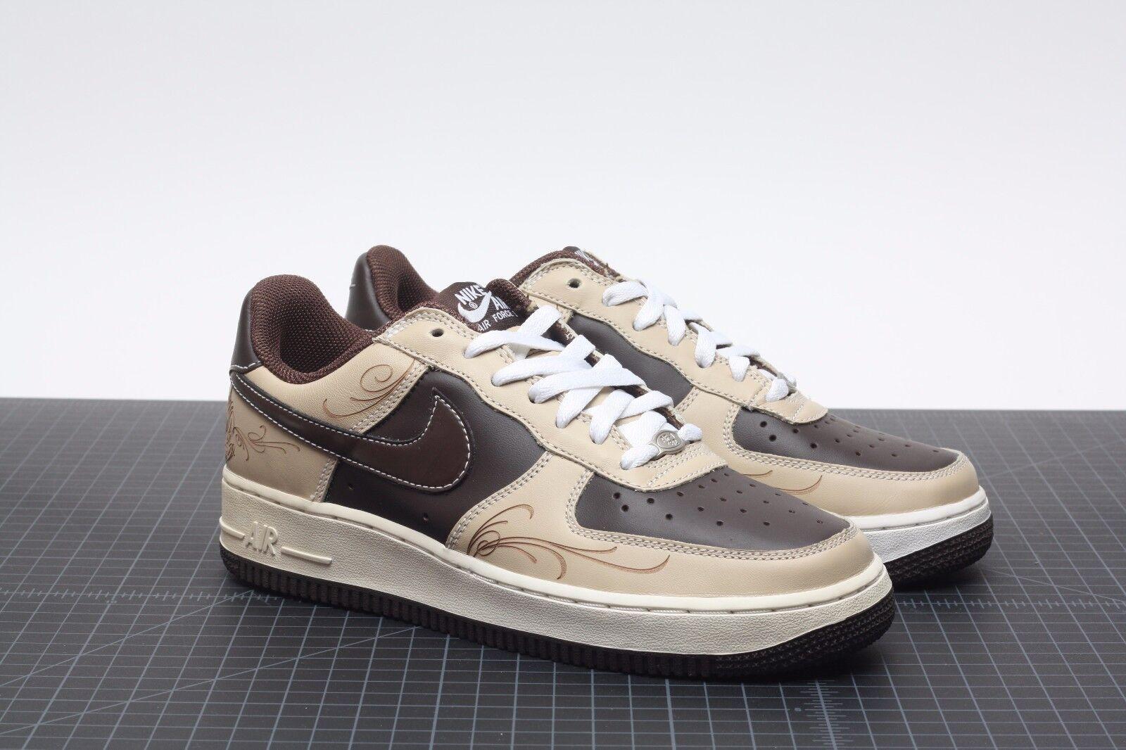 premium selection b63fc cf3a6 Nike Air Force 1 Mr Cartoon La Brown Pride Laser Linen Size 7 for ...