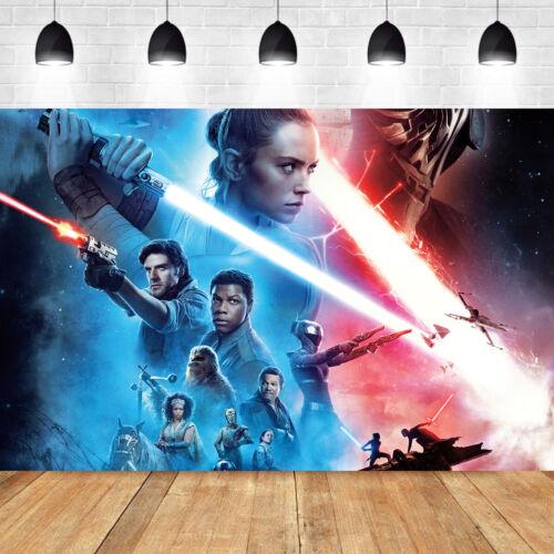 Star Wars Photography Backdrop Birthday Party Studio Photo Background Decoration