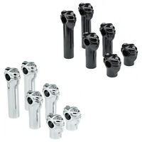 Fast Shipping Biltwell Gordo Risers For Motorcycles (black Or Chrome)