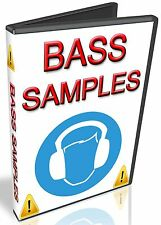BASS SAMPLES - REASON REFILL -CUBASE- FRUITY LOOPS - FL STUDIO- KONTAKT- ABLETON