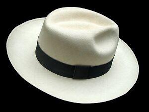 8e15adf8cde Image is loading Genuine-Panama-Hat-Montecristi-Clasico-Superfino-Men-Woman-