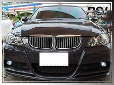 2006-2008 BMW E90 3D Style Carbon Fiber Front Bumper Lip w/ M-Sport 328i 335i