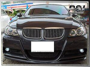 d0ee6acaef63 2006-2008 BMW E90 3D Style Carbon Fiber Front Bumper Lip w  M-Sport ...