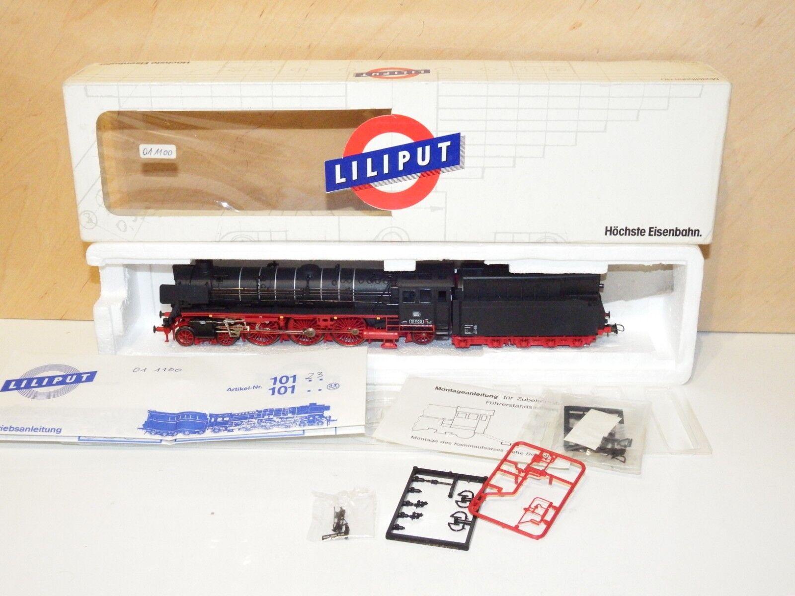 H0 Liliput 10123 LOCOMOTIVA DB BR 01 1100 come nuovo OVP 2850