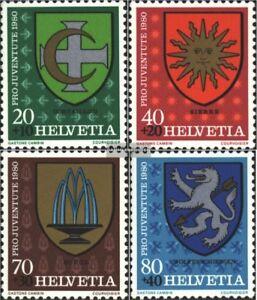 Schweiz-1187-1190-kompl-Ausg-gestempelt-1980-Pro-Juventute