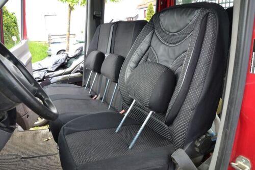 Maß Sitzbezüge Mercedes Sprinter ab 2006 /> 1+1 Sitzbezug Schonbezug