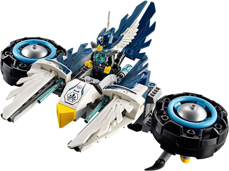 Lego andet, Chima 70007 Eglors flyvende motorcykel UÅBNET