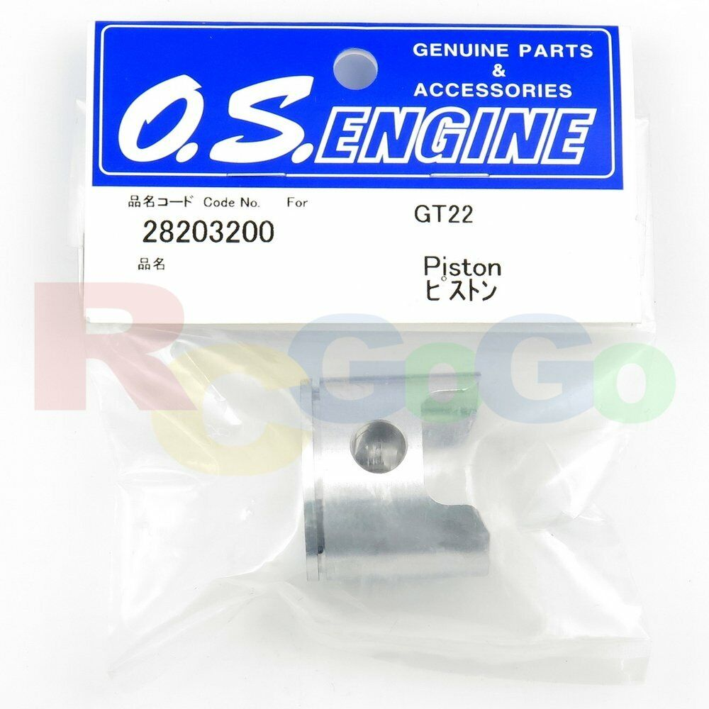 PISTON GT22 # OS28203200 **O.S. Engines Genuine Parts**