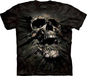 New-The-Mountain-Breakthrough-Skull-T-Shirt