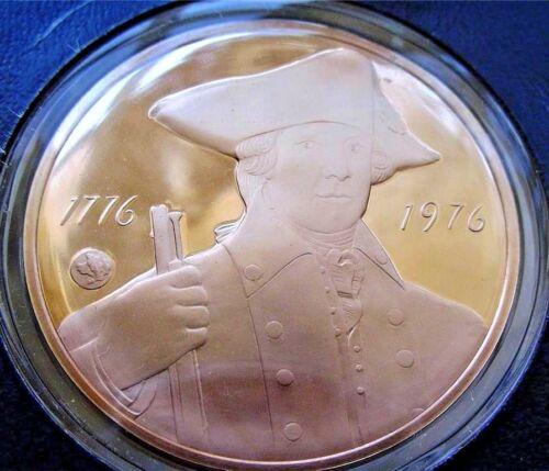 New York Bicentennial Medal Franklin Mint Bronze PROOF