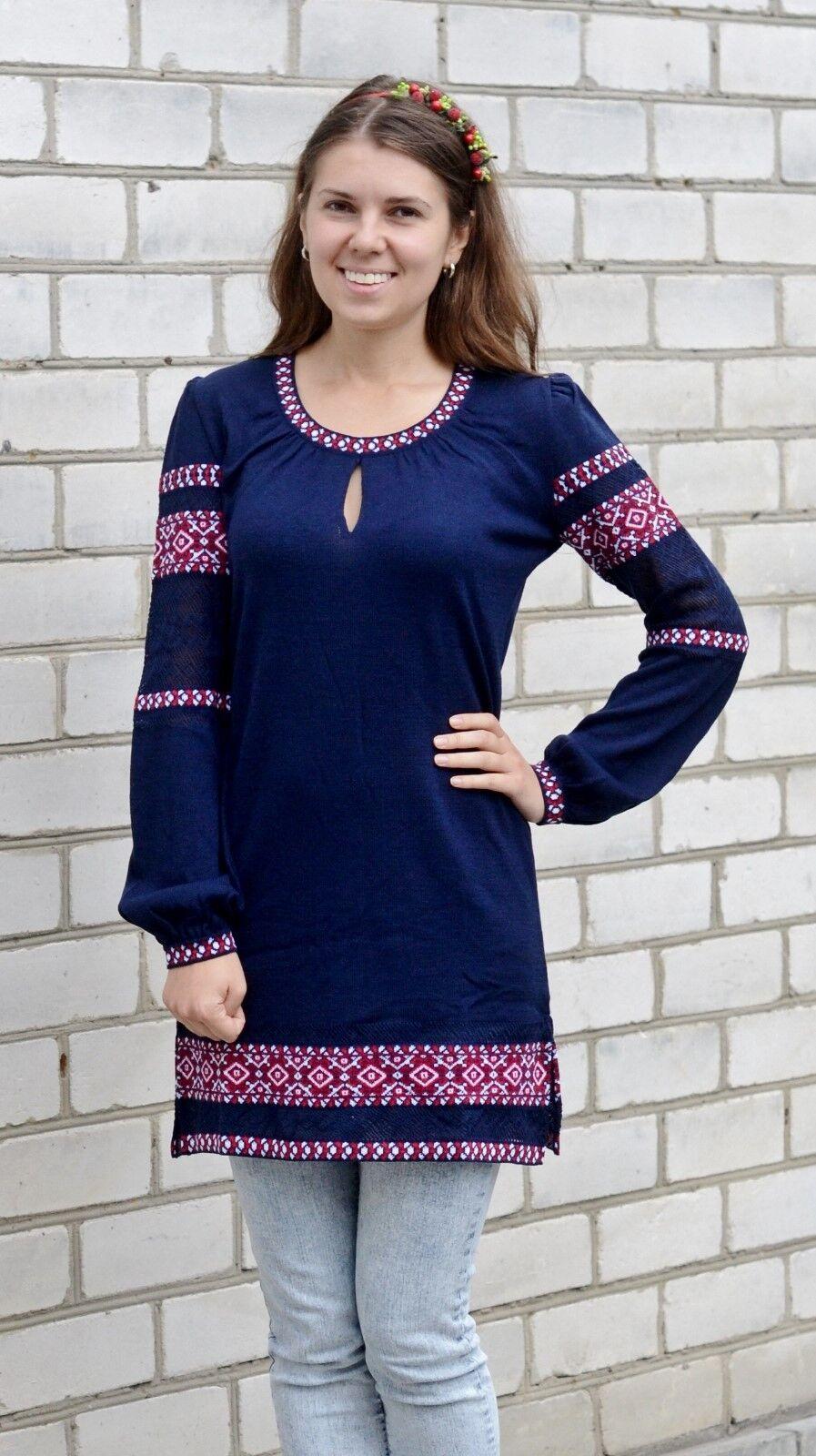Ukrainian Women's Tunic Embroidery Vyshyvanka Textile