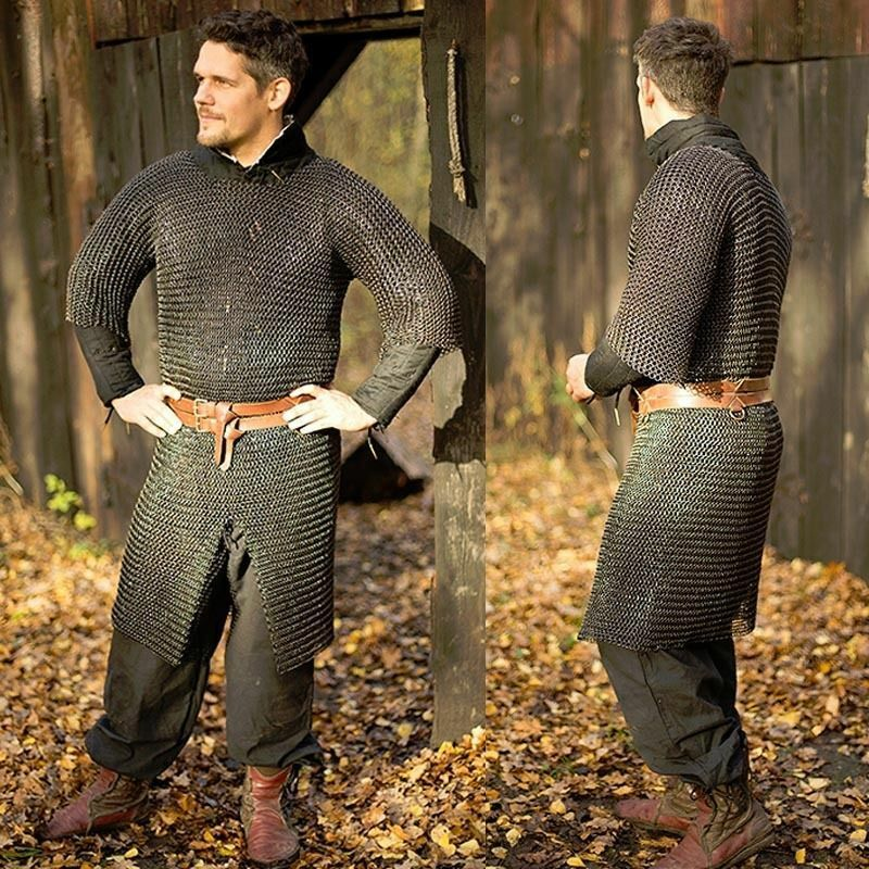 Ragnar Butted Chainmail Shirt - Ideal For LARP And Re-Enactment