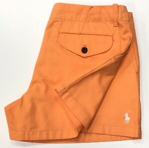 Ralph-Lauren-Damen-Shorts-in-orange