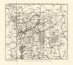 Western Germany Napoleonic Battles Koblenz Mainz Frankfurt