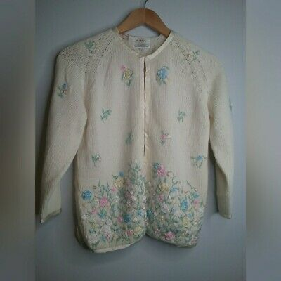 Cyn les 1950's Vintage Cardigan Sea Island Fashions Designed for Davisons READ | eBay