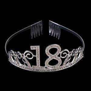 18-Years-Old-Birthday-Crown-Crystal-Hairband-Girl-Tiara-Princess-Head-Accesso-ME