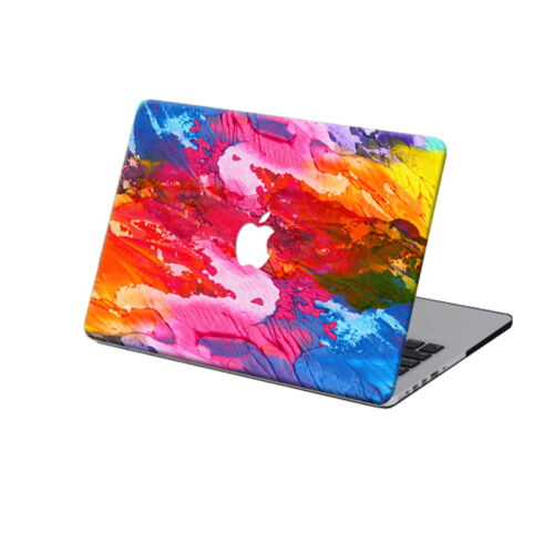 For Mac Macbook 11//12//13//15 inch Laptop Shell Colorful Painted Hard Case Covers