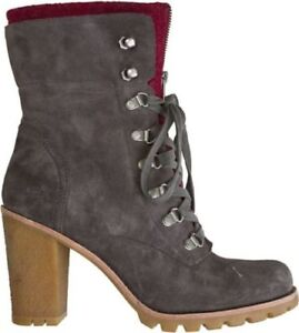 Fabrice Heeled Suede Boots Ugg® 38 Rrp Charcoal Australia 7 Eu Uk 6 5 Usa £190 5 F5tFIq