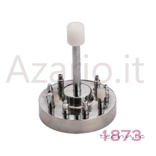 Base con 9 accessori e pressa posa sfere professionale orologi orologiaio